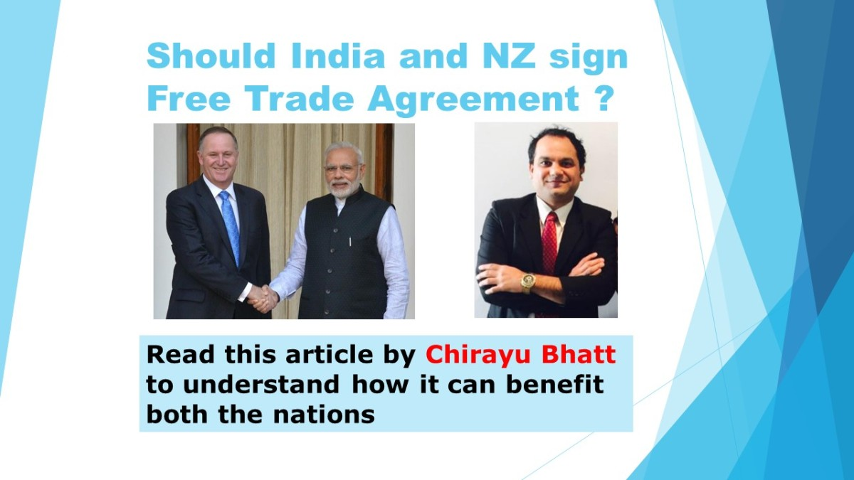 Should India And Nz Go For The Free Trade Agreement Read This